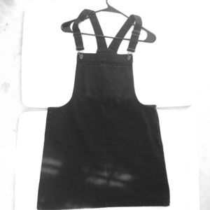Forever 21 Black Denim Dress